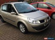 2007 RENAULT SCENIC DYN VVT GOLD for Sale