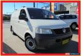 Classic 2006 Volkswagen Transporter T5 MY07 Crewvan White Manual 5sp M Van for Sale