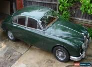 1962 MK2 JAGUAR 3.4 Ltr 4 SPEED RACING GREEN for Sale