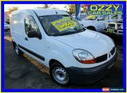 2006 Renault Kangoo X76 Integral White Automatic 4sp A Van for Sale