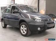 2001 Renault Scenic RX4 PRIVILEGE VERVE 4X4 Purple Manual 5sp M Wagon for Sale