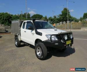 Classic 2006 Toyota Hilux KUN26R MY07 SR White Manual 5sp M 2D CAB CHASSIS for Sale