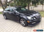Mercedes-Benz: 2010 Mercedes-Benz E63 AMG - LOW RESERVE E63 AMG  for Sale