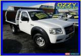 Classic 2008 Ford Ranger PJ 07 Upgrade XL (4x4) White Manual 5sp M Cab Chassis for Sale