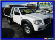2008 Ford Ranger PJ 07 Upgrade XL (4x4) White Manual 5sp M Cab Chassis for Sale