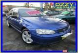 Classic 2003 Ford Falcon BA XT Blue Automatic 4sp A Sedan for Sale