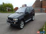 2004 BMW X5 SPORT D AUTO BLACK, MOT, FSH, 4X4, EXCELLENT EXAMPLE. for Sale