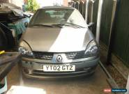 Renault Clio Expression 1.5 Diesel for spares or repair for Sale