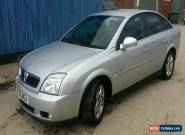 2005 VAUXHALL VECTRA DESIGN AUTO SILVER for Sale