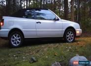 1999 Volkswagen Cabrio for Sale