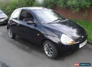 2007 FORD KA ZETEC CLIMATE BLACK FULL MOT, LOW MILEAGE for Sale