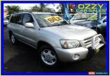 Classic 2006 Toyota Kluger MCU28R Upgrade Grande (4x4) Silver Automatic 5sp A Wagon for Sale