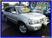 2006 Toyota Kluger MCU28R Upgrade Grande (4x4) Silver Automatic 5sp A Wagon for Sale