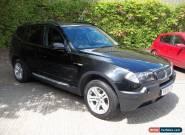 2005 55  BMW X3 2.0  SE PETROL MANUAL METT  BLACK 113000 MILES for Sale