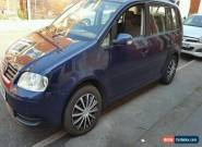 VOLKSWAGEN TOURAN 1.9 TDI SE ONLY DONE 130K for Sale