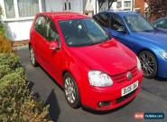 2006 VOLKSWAGEN GOLF 2.0 GT TDI RED 6 SPEED for Sale