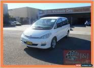 2004 Toyota Tarago ACR30R GLi White Automatic 4sp A Wagon for Sale