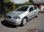 2002 VAUXHALL ASTRA LS 1.6 8V SILVER for Sale