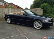 2002 BMW 330 CI SPORT AUTO BLUE CABRIOLET CONVERTIBLE for Sale