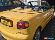 1997 RENAULT MEGANE 1.6E CABRIOLET YELLOW for Sale