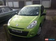 renault clio extreme 1.2 petrol 3dr nice colour for Sale