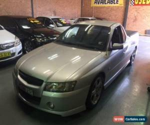 Classic 2005 Holden Ute VZ S Silver Manual 6sp M Utility for Sale