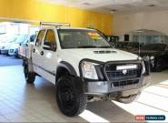 2008 Holden Rodeo LX RA MY08 White Manual M Dual Cab Chassis for Sale