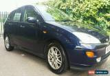 Classic 2001 Ford Focus 2.0 i 16v Ghia 5dr for Sale