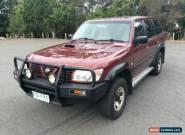 2001 Nissan Patrol GU II ST (4x4) Maroon Automatic 4sp A Wagon for Sale