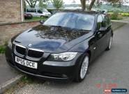 2005 BMW 320I SE BLACK ,,,,1 DAY AUCTION NO RESERVE for Sale