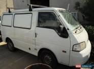 Mazda E2000 (MWB) (2001) Van Manual (2L - Carb) 3 Seats Dual fuel for Sale