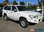 2006 Toyota Landcruiser HDJ100R Upgrade II GXL (4x4) White Manual 5sp M Wagon for Sale