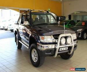 Classic 2002 Toyota Hilux VZN167R MY02 SR5 Blue Manual 5sp M Utility for Sale