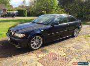 *** 2006 BMW 320CD M SPORT BLUE COUPE E46 FBMWSH *** for Sale