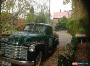 chevrolet 1951 3100 pick up for Sale